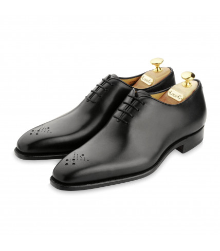 One-Cut Oxford Milan 345 with perforated toe-cap