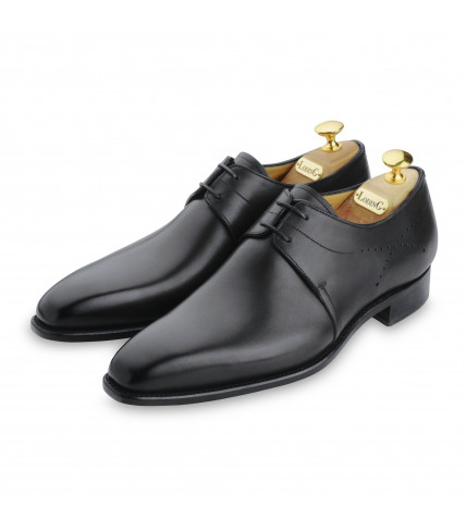 Derby Goodyear Kelly 479 black box and leather sole